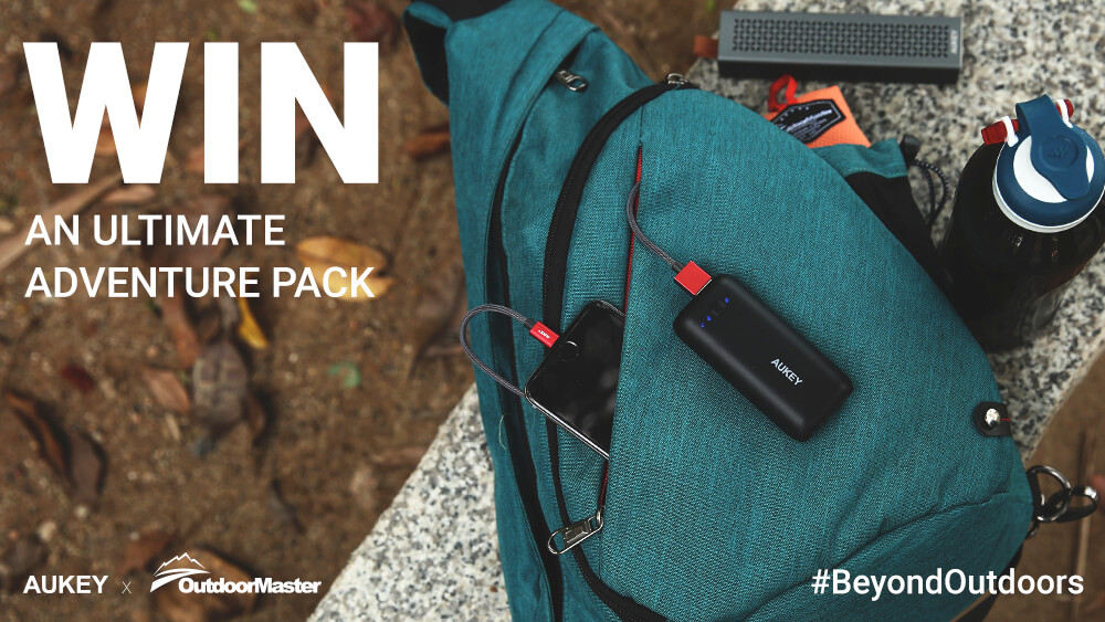 AUKEY x OutdoorMaster Ultimate Adventure Pack Giveaway! #BeyondOutdoors