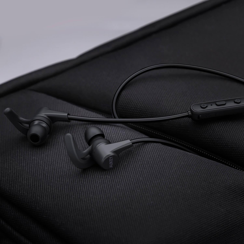 Earbuds bluetooth neck - aukey latitude bluetooth earbuds
